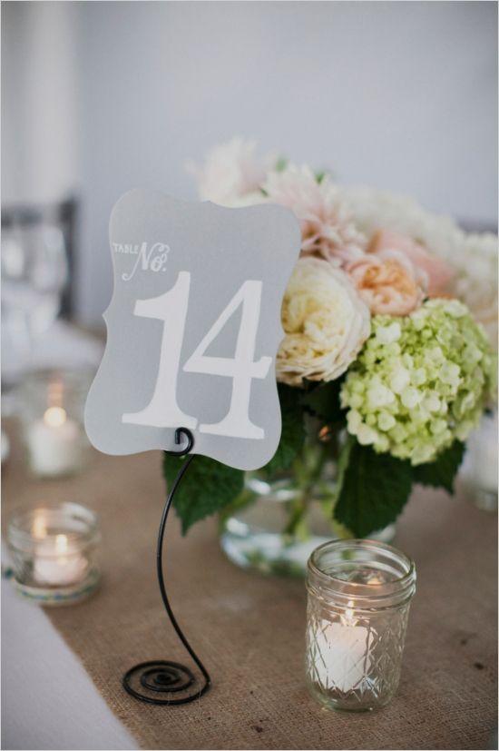 Nápady na číslovanie svadobných stolov - Obrázok č. 13
