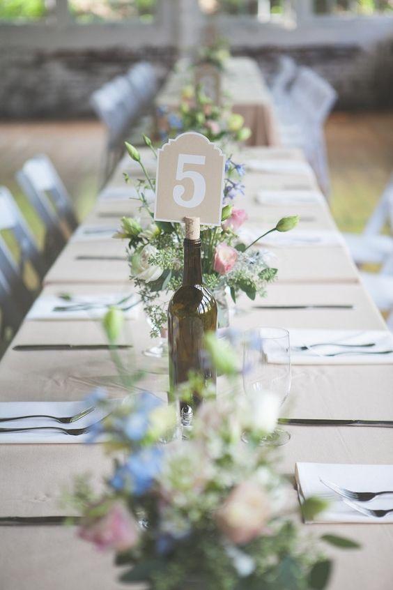 Nápady na číslovanie svadobných stolov - Obrázok č. 14