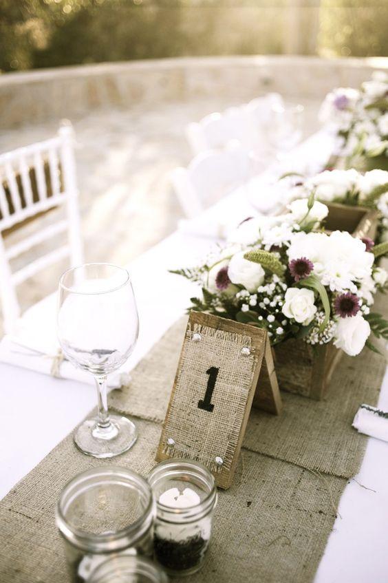 Nápady na číslovanie svadobných stolov - Obrázok č. 15