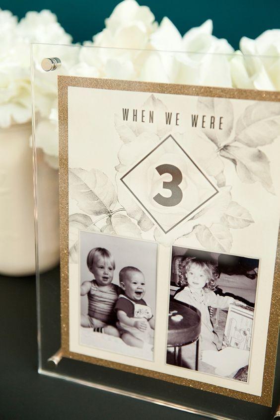 Nápady na číslovanie svadobných stolov - Obrázok č. 16
