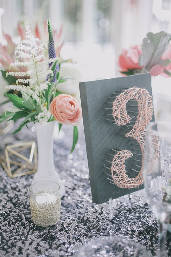 Nápady na číslovanie svadobných stolov - Obrázok č. 18
