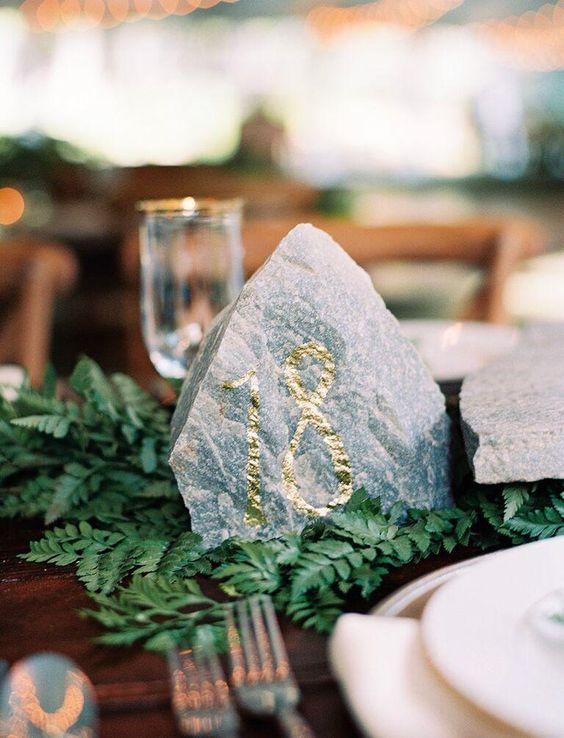 Nápady na číslovanie svadobných stolov - Obrázok č. 21
