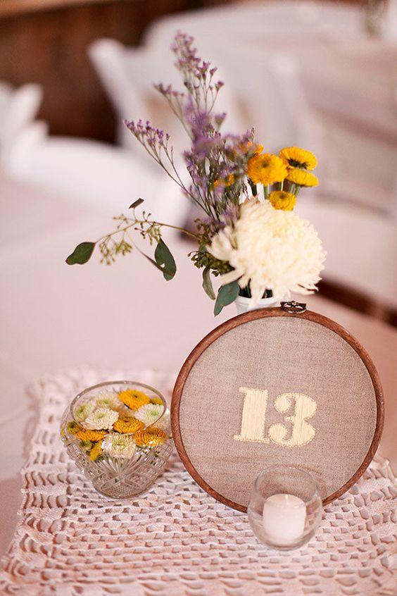 Nápady na číslovanie svadobných stolov - Obrázok č. 30