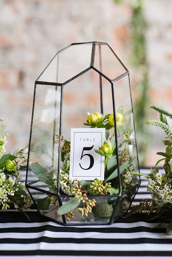 Nápady na číslovanie svadobných stolov - Obrázok č. 34