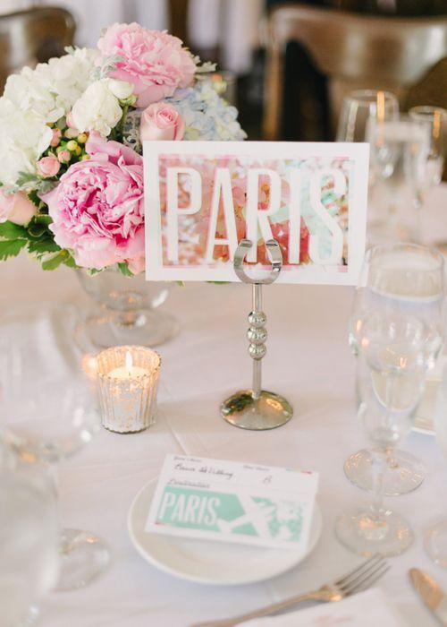 Nápady na číslovanie svadobných stolov - Obrázok č. 37