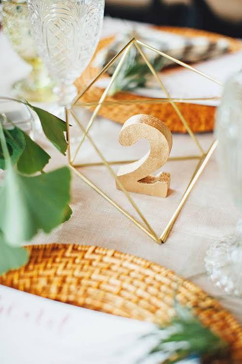 Nápady na číslovanie svadobných stolov - Obrázok č. 45