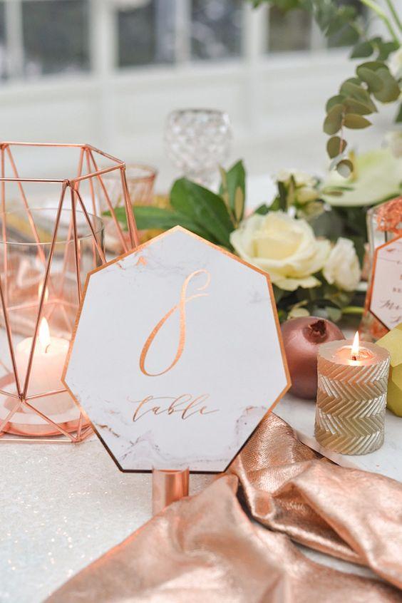 Nápady na číslovanie svadobných stolov - Obrázok č. 49