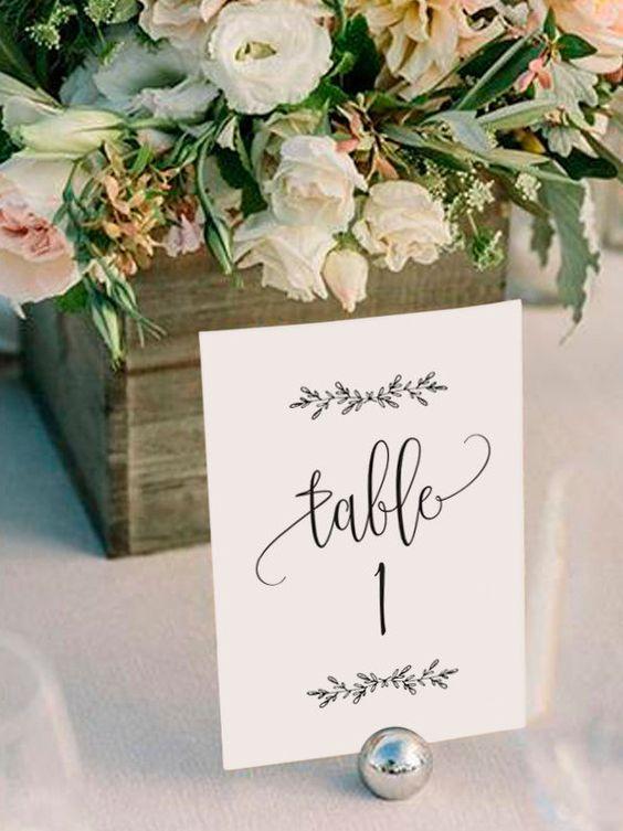 Nápady na číslovanie svadobných stolov - Obrázok č. 51