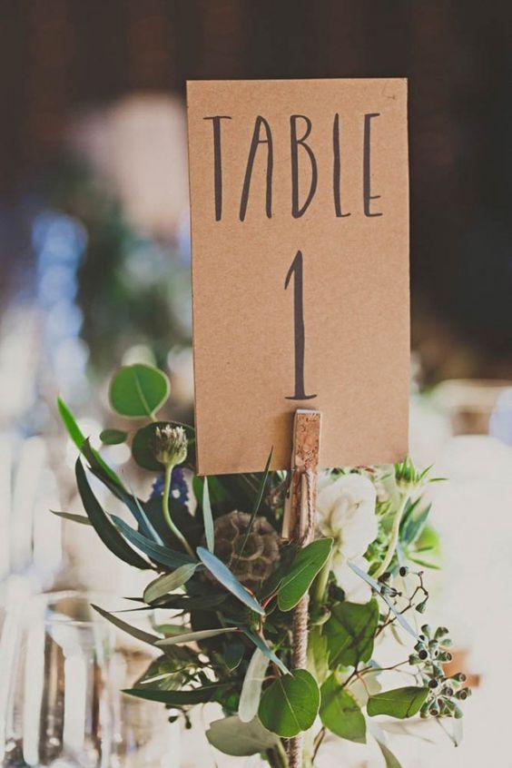Nápady na číslovanie svadobných stolov - Obrázok č. 60
