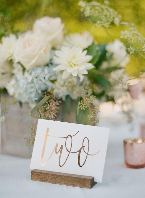 Nápady na číslovanie svadobných stolov - Obrázok č. 61