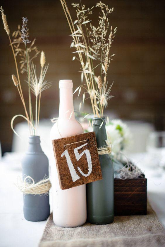 Nápady na číslovanie svadobných stolov - Obrázok č. 63
