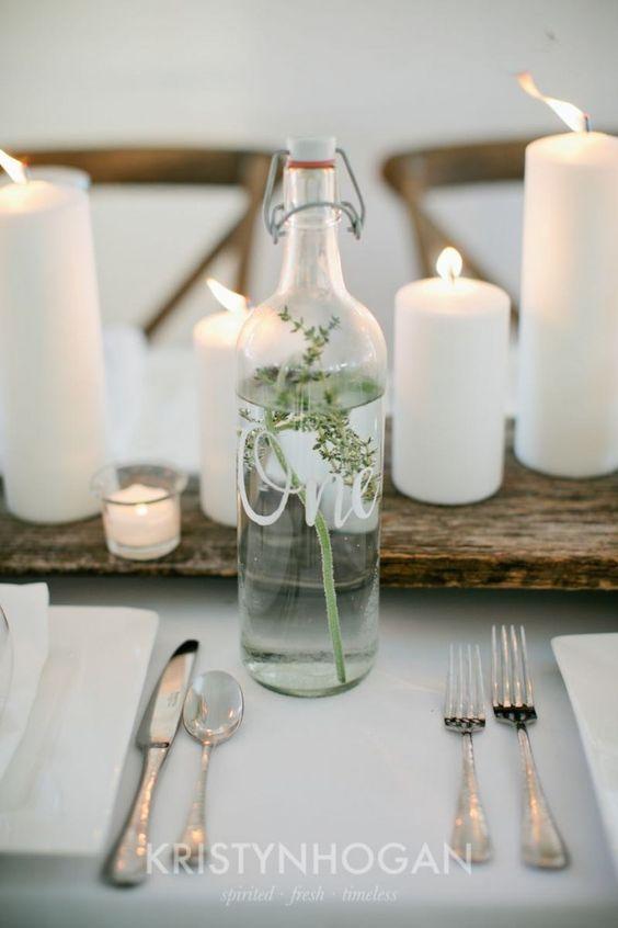 Nápady na číslovanie svadobných stolov - Obrázok č. 64