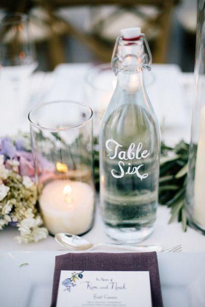 Nápady na číslovanie svadobných stolov - Obrázok č. 68