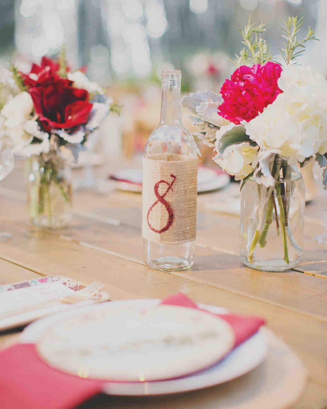 Nápady na číslovanie svadobných stolov - Obrázok č. 75