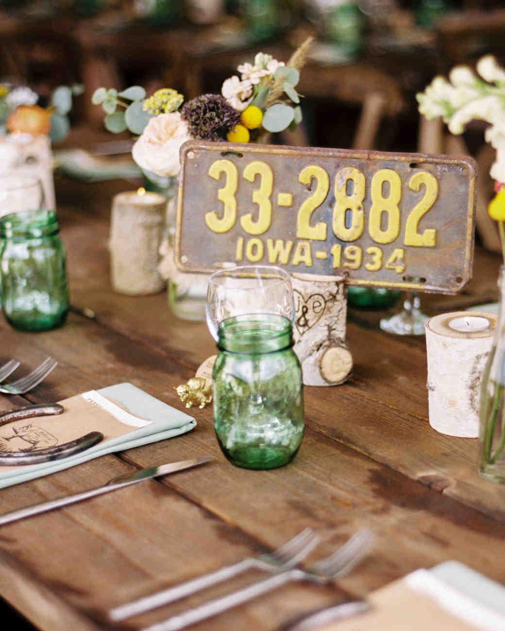 Nápady na číslovanie svadobných stolov - Obrázok č. 76