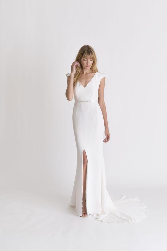 Tak jednoducho, ako sa len dá (minimalizmus v svadobných šatách) - Obrázok č. 48