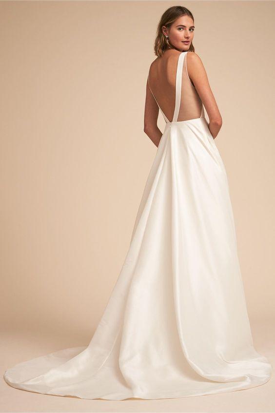 Tak jednoducho, ako sa len dá (minimalizmus v svadobných šatách) - Obrázok č. 49