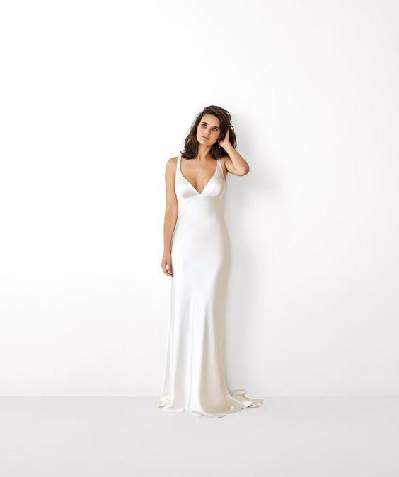 Tak jednoducho, ako sa len dá (minimalizmus v svadobných šatách) - Obrázok č. 52