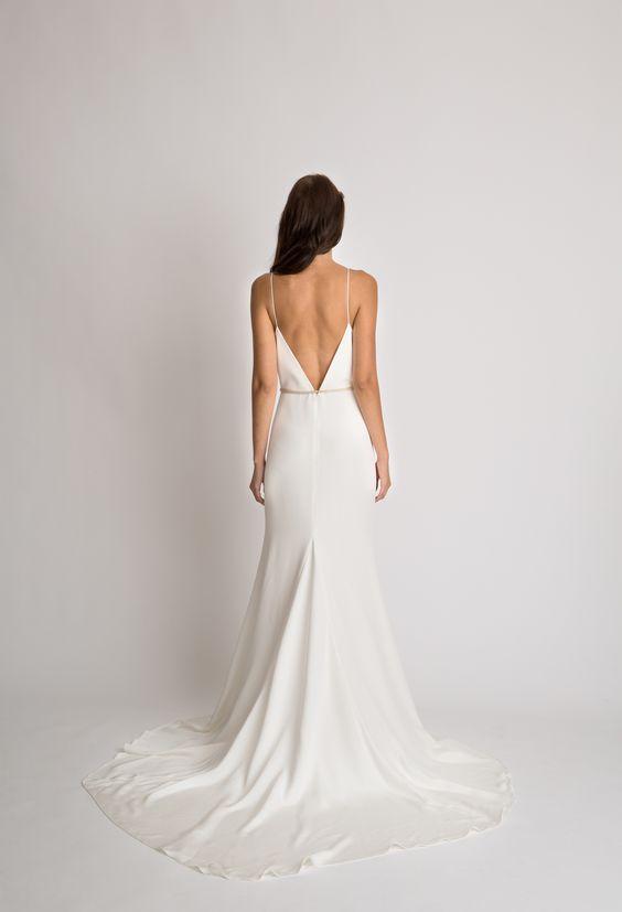 Tak jednoducho, ako sa len dá (minimalizmus v svadobných šatách) - Obrázok č. 53