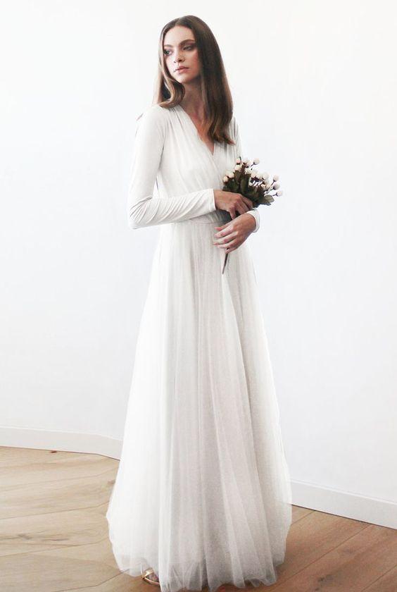Tak jednoducho, ako sa len dá (minimalizmus v svadobných šatách) - Obrázok č. 55