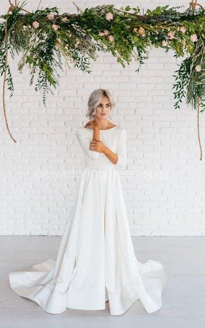 Tak jednoducho, ako sa len dá (minimalizmus v svadobných šatách) - Obrázok č. 57
