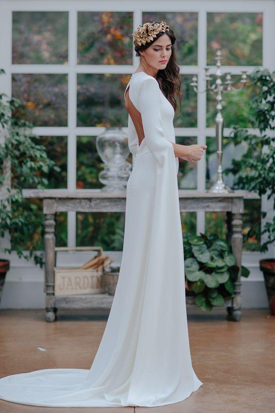 Tak jednoducho, ako sa len dá (minimalizmus v svadobných šatách) - Obrázok č. 58