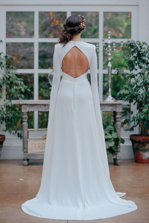 Tak jednoducho, ako sa len dá (minimalizmus v svadobných šatách) - Obrázok č. 59