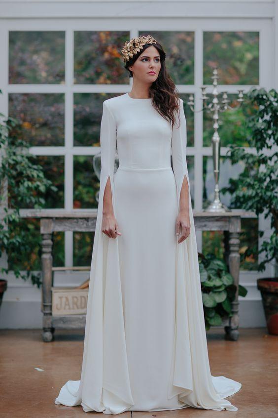 Tak jednoducho, ako sa len dá (minimalizmus v svadobných šatách) - Obrázok č. 60
