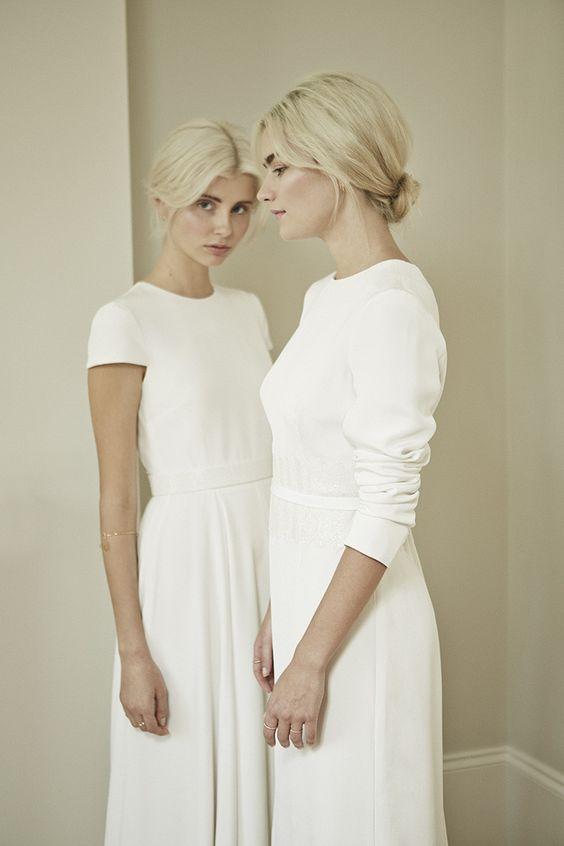 Tak jednoducho, ako sa len dá (minimalizmus v svadobných šatách) - Obrázok č. 62