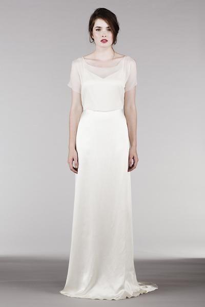 Tak jednoducho, ako sa len dá (minimalizmus v svadobných šatách) - Obrázok č. 63