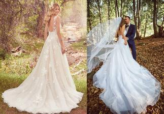 Nevesta @stanka_t a jej svadobné šaty Maggie Sottero Meryl zo Salónu El v Bratislave.