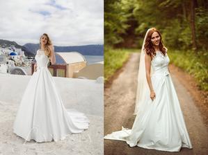 Nevesta @tralalik_1 a jej svadobné šaty značky Lanesta, model Mondial zo salónu MyLady v Trenčíne.