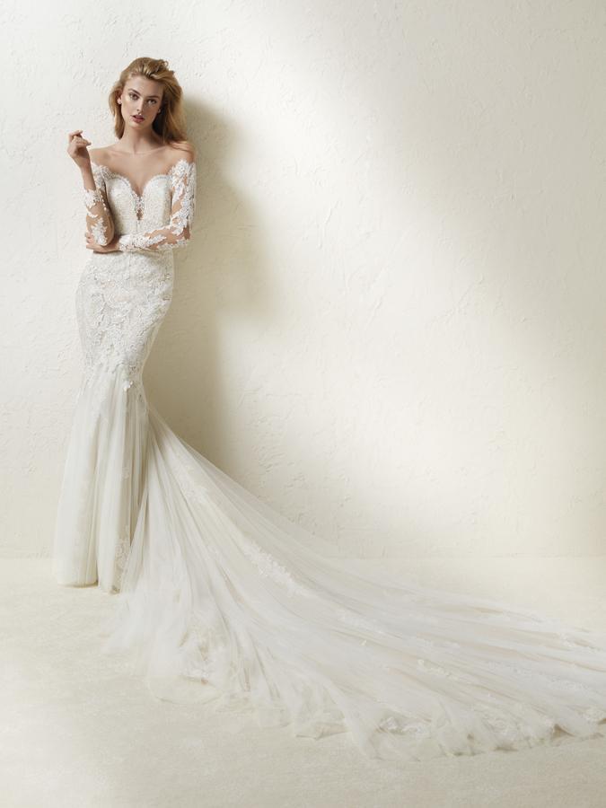 Atelier Pronovias predstavil kolekciu svadobných šiat na rok 2018 - Obrázok č. 48