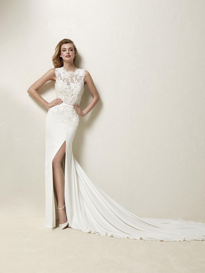 Atelier Pronovias predstavil kolekciu svadobných šiat na rok 2018 - Obrázok č. 55