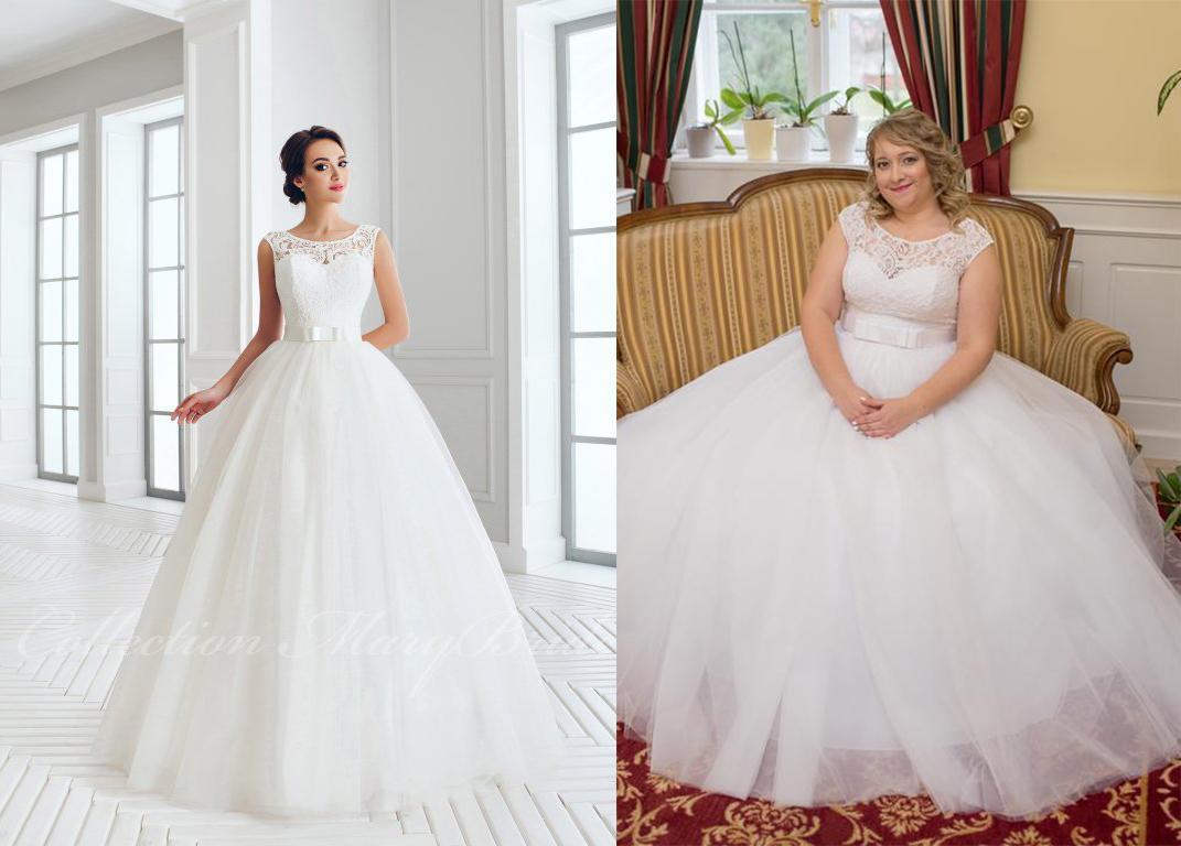 Svadobné šaty na modelke a na reálnej neveste - Nevesta @lejdytinka a jej svadobné šaty Mary Bride 887 zo salónu Svadby podľa Ely v Bratislave.