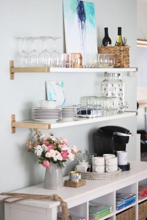 Kuchyne s otvorenými poličkami - Obrázok č. 7