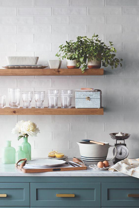 Kuchyne s otvorenými poličkami - Obrázok č. 8