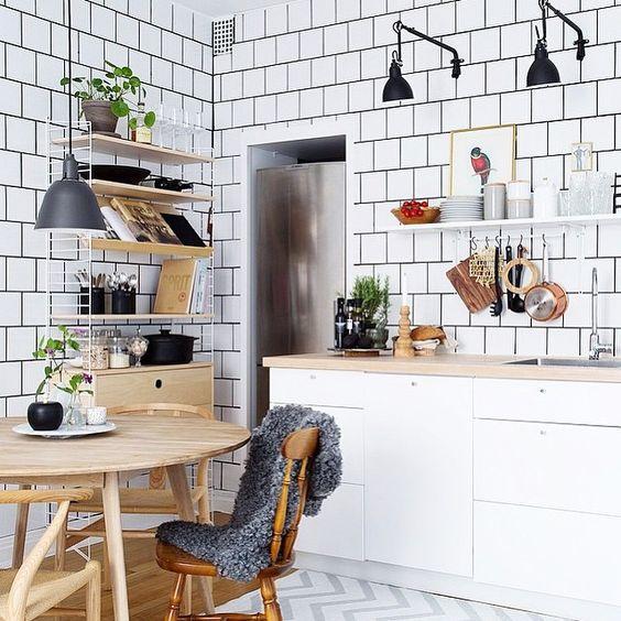 Kuchyne s otvorenými poličkami - Obrázok č. 5