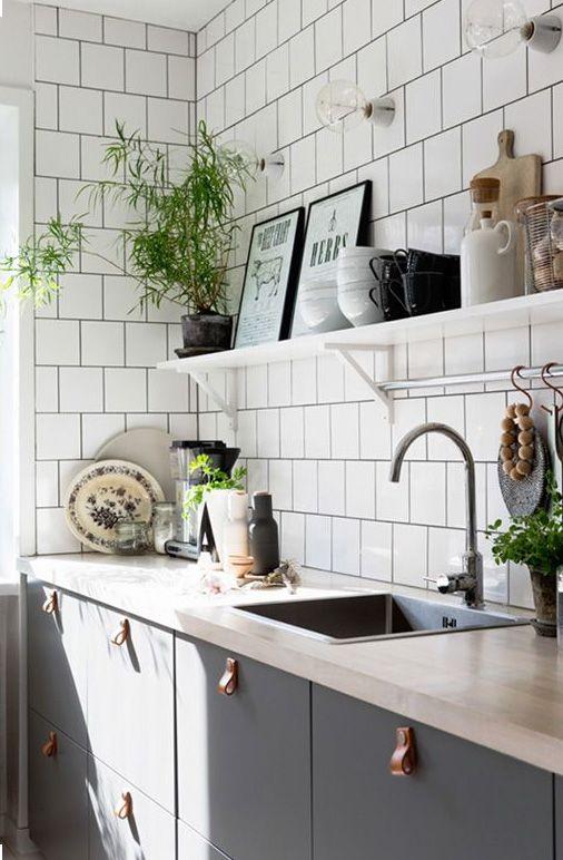 Kuchyne s otvorenými poličkami - Obrázok č. 2