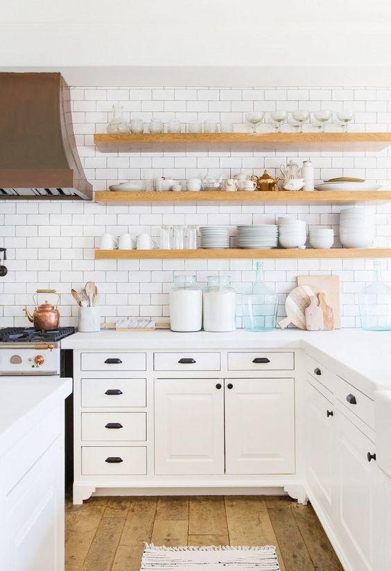 Kuchyne s otvorenými poličkami - Obrázok č. 1