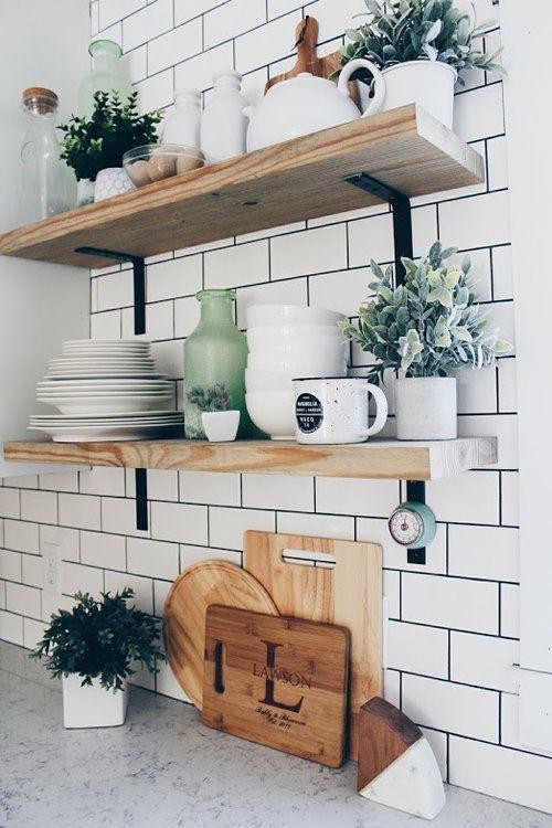 Kuchyne s otvorenými poličkami - Obrázok č. 4