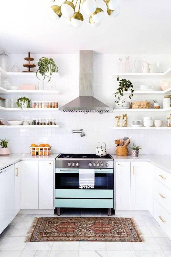 Kuchyne s otvorenými poličkami - Obrázok č. 14