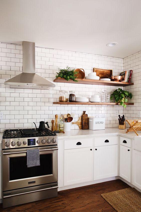 Kuchyne s otvorenými poličkami - Obrázok č. 16