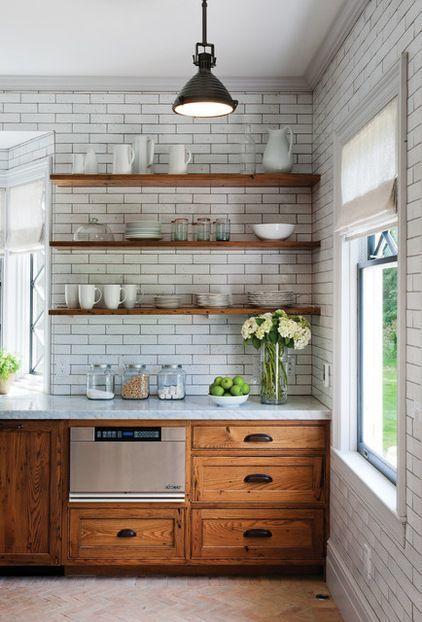 Kuchyne s otvorenými poličkami - Obrázok č. 17
