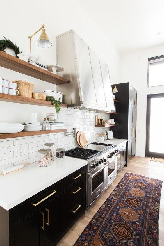 Kuchyne s otvorenými poličkami - Obrázok č. 18