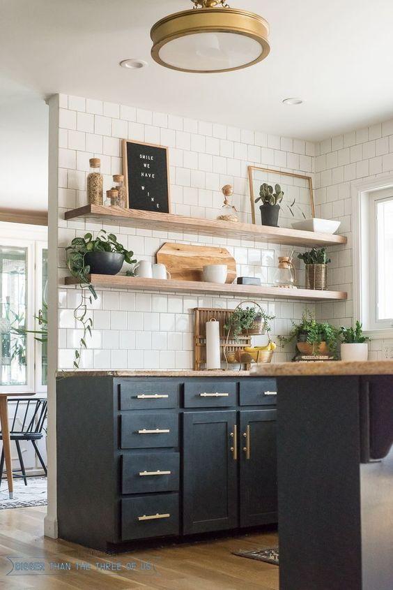 Kuchyne s otvorenými poličkami - Obrázok č. 19