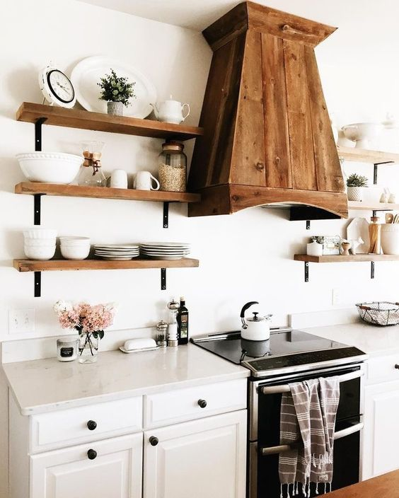Kuchyne s otvorenými poličkami - Obrázok č. 20