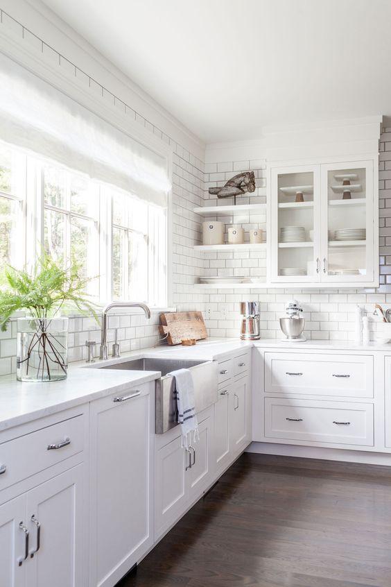 Kuchyne s otvorenými poličkami - Obrázok č. 21