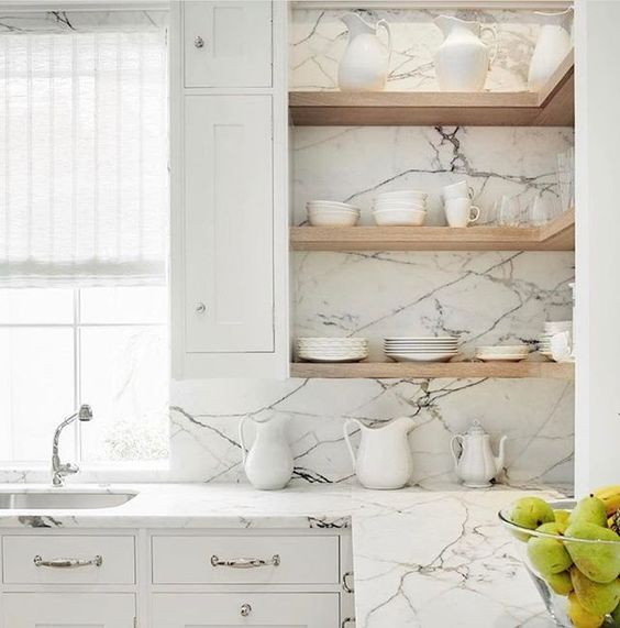 Kuchyne s otvorenými poličkami - Obrázok č. 3