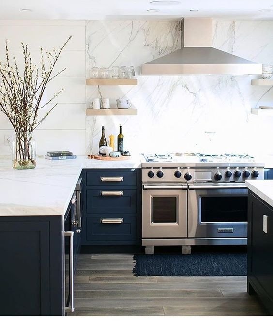Kuchyne s otvorenými poličkami - Obrázok č. 26